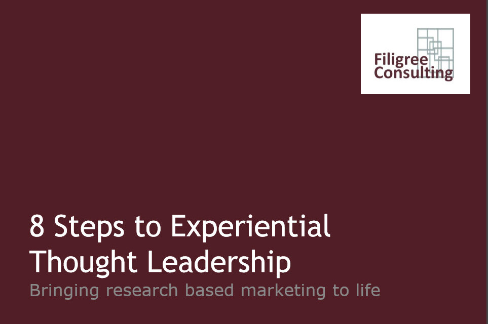 8 Steps to Experiential Thought Leadership