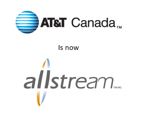AT&T Canada to Allstream Brand Transition